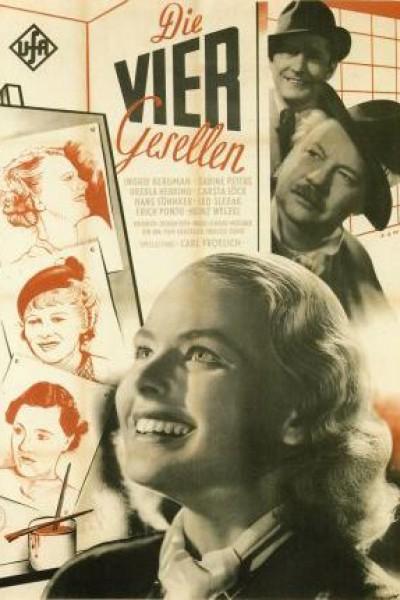 Caratula, cartel, poster o portada de El pacto de los cuatro
