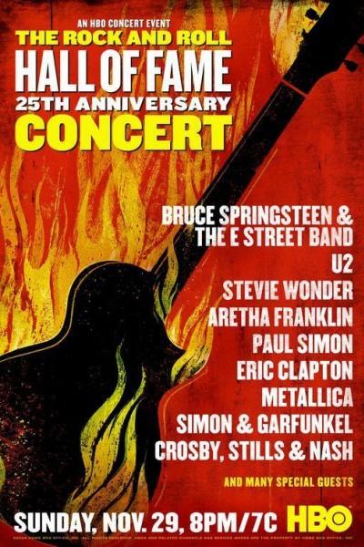 Caratula, cartel, poster o portada de The 25th Anniversary Rock and Roll Hall of Fame Concert