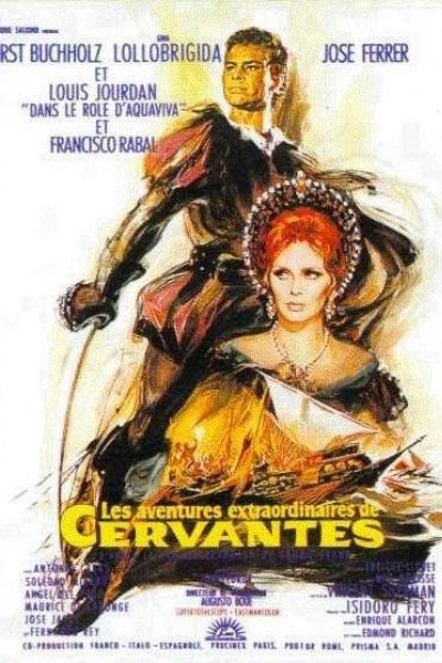 Caratula, cartel, poster o portada de Cervantes