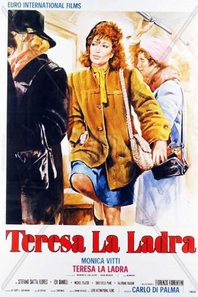 Caratula, cartel, poster o portada de Teresa, la ladrona