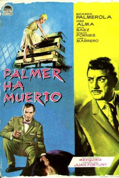 Caratula, cartel, poster o portada de Palmer ha muerto
