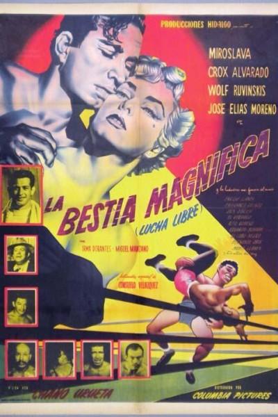 Caratula, cartel, poster o portada de La bestia magnífica (Lucha libre)