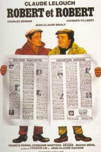 Caratula, cartel, poster o portada de Robert et Robert