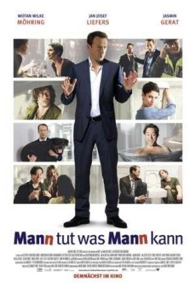 Caratula, cartel, poster o portada de Mann tut was Mann kann