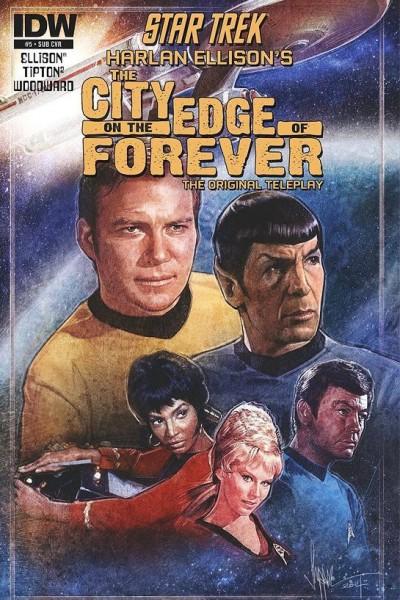 Caratula, cartel, poster o portada de Star Trek: La ciudad al borde de la eternidad