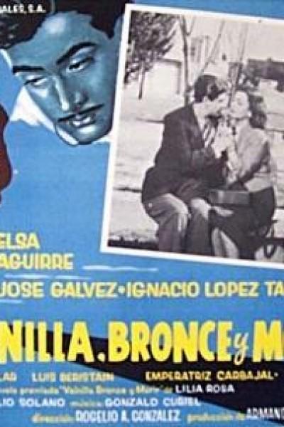 Caratula, cartel, poster o portada de Vainilla, bronce y morir (Una mujer más)