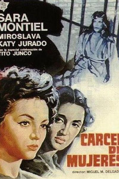 Caratula, cartel, poster o portada de Cárcel de mujeres