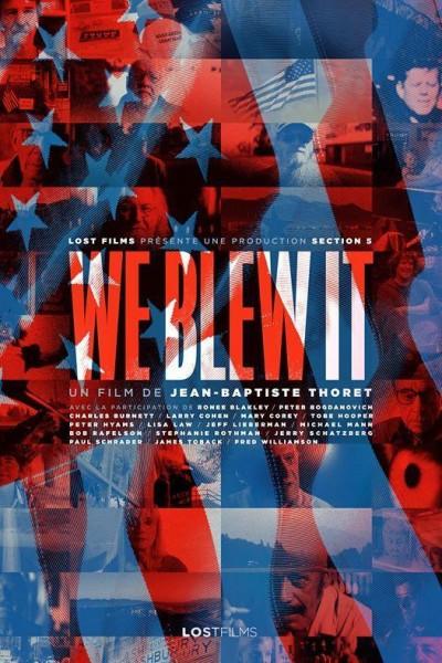 Caratula, cartel, poster o portada de We Blew It