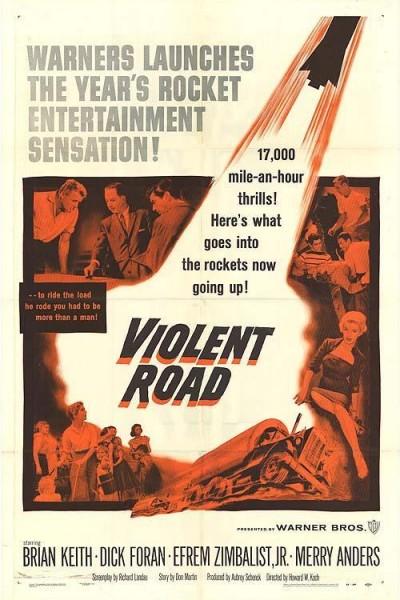 Caratula, cartel, poster o portada de Violent Road