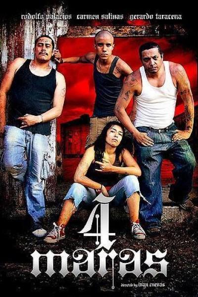 Caratula, cartel, poster o portada de 4 maras