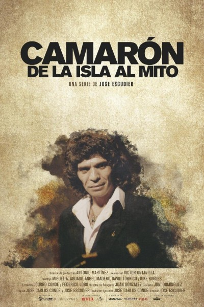 Caratula, cartel, poster o portada de Camarón. De la isla al mito