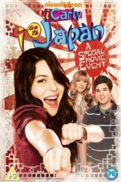 Caratula, cartel, poster o portada de iCarly va a Japón