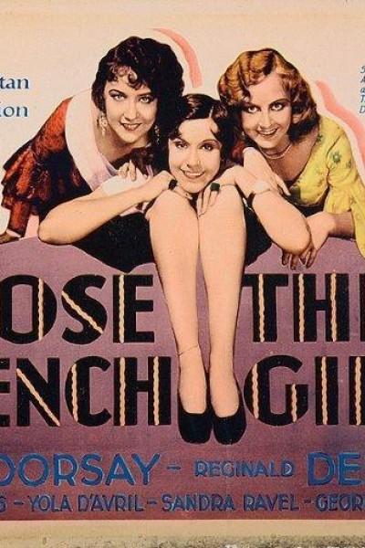 Caratula, cartel, poster o portada de Tres muchachas francesas