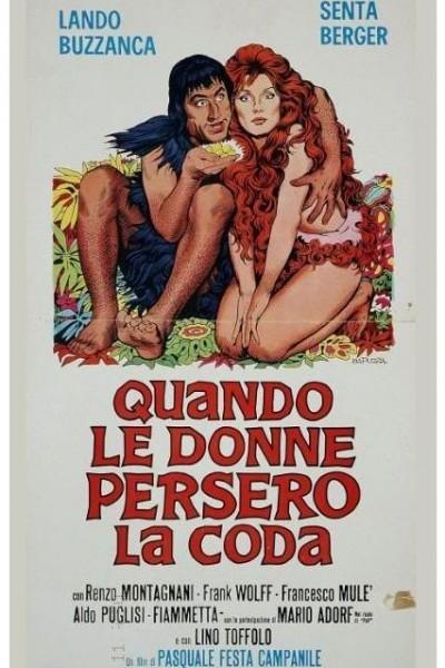 Caratula, cartel, poster o portada de Cuando las mujeres perdieron la cola