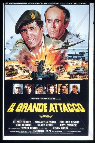 Caratula, cartel, poster o portada de Los jóvenes leones (Batalla de gigantes)