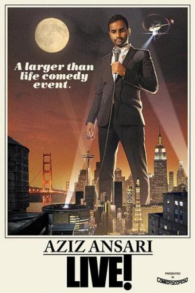 Caratula, cartel, poster o portada de Aziz Ansari Live in Madison Square Garden