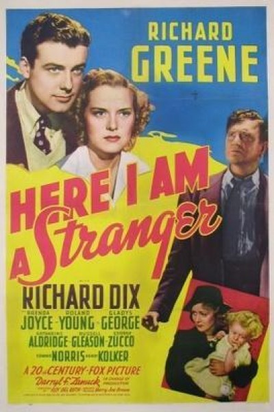 Caratula, cartel, poster o portada de Here I Am a Stranger