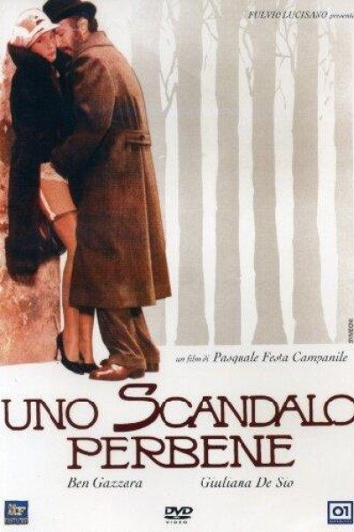 Caratula, cartel, poster o portada de Uno scandalo perbene