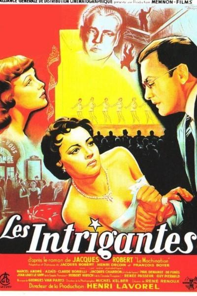 Caratula, cartel, poster o portada de Les intrigantes