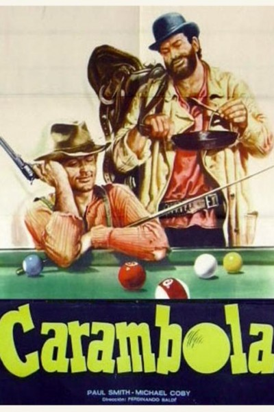 Caratula, cartel, poster o portada de Carambola