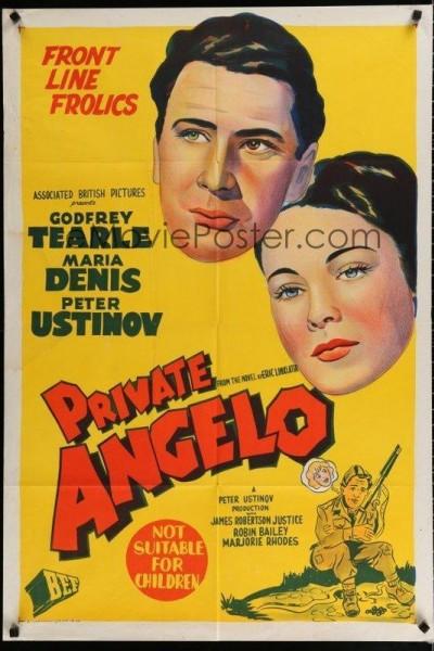 Caratula, cartel, poster o portada de Private Angelo