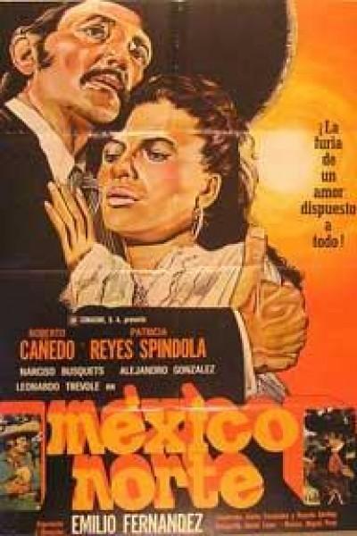 Caratula, cartel, poster o portada de México Norte