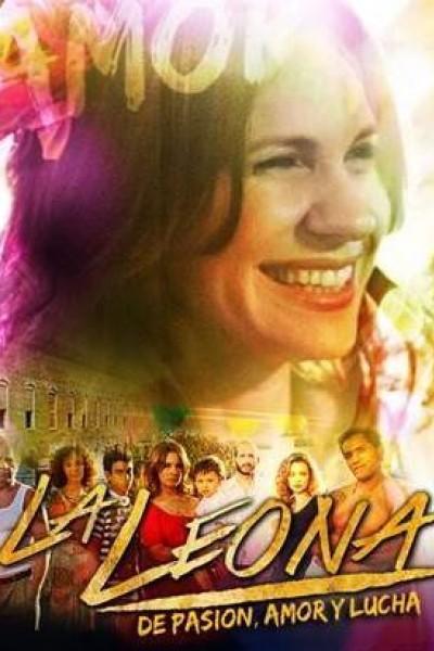 Caratula, cartel, poster o portada de La Leona