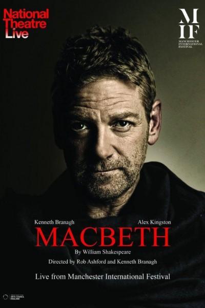 Caratula, cartel, poster o portada de National Theatre Live: Macbeth