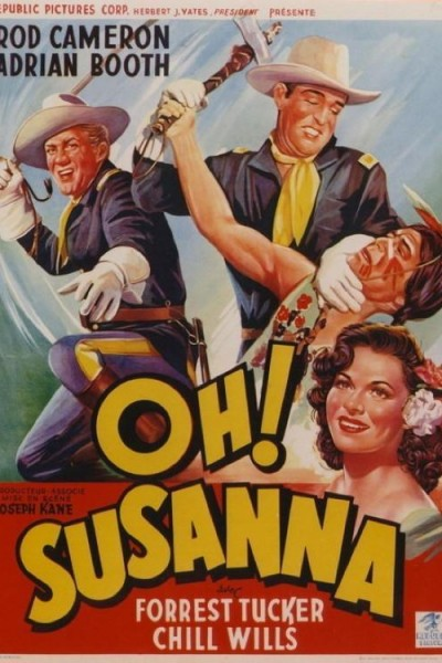 Caratula, cartel, poster o portada de Oh! Susanna