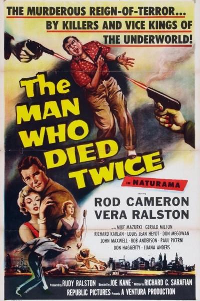 Caratula, cartel, poster o portada de The Man Who Died Twice