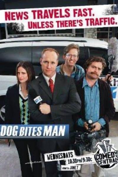 Caratula, cartel, poster o portada de Dog Bites Man