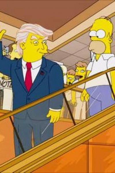 Caratula, cartel, poster o portada de Los Simpson: Trumptastic Voyage