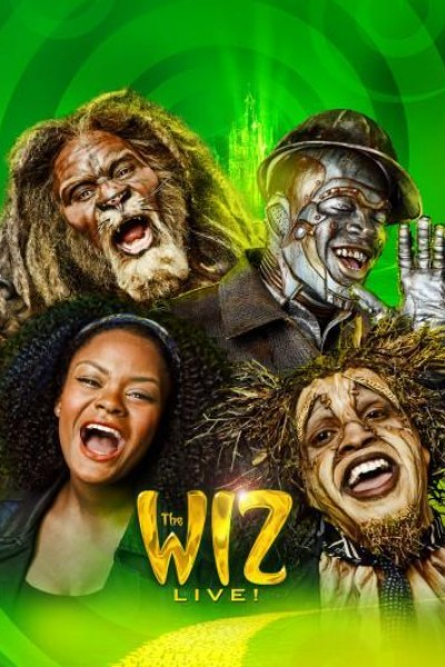 Caratula, cartel, poster o portada de The Wiz Live!