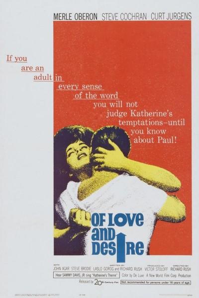 Caratula, cartel, poster o portada de Of Love and Desire