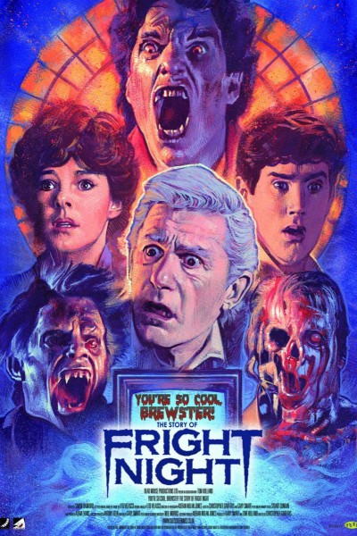Caratula, cartel, poster o portada de You\'re So Cool, Brewster! The Story of Fright Night