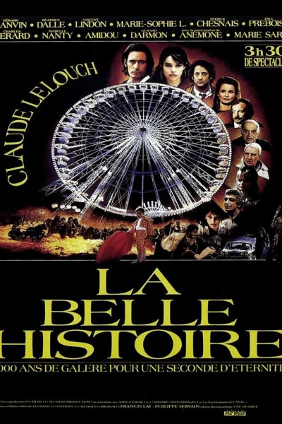 Caratula, cartel, poster o portada de La belle histoire