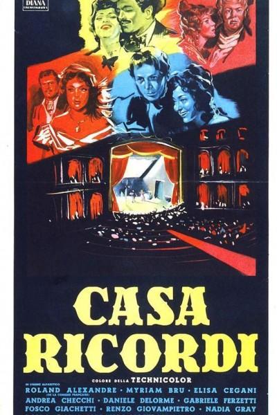 Caratula, cartel, poster o portada de Casa Ricordi