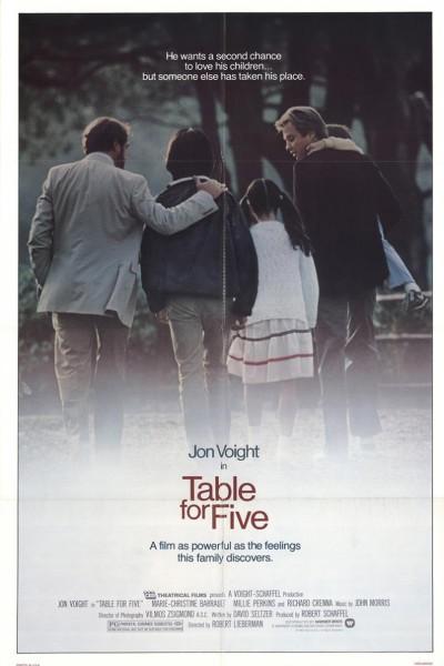 Caratula, cartel, poster o portada de Mesa para cinco