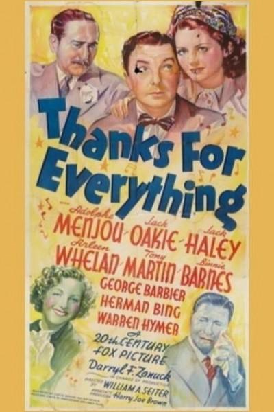 Caratula, cartel, poster o portada de Thanks for Everything