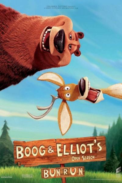 Caratula, cartel, poster o portada de Colegas en el bosque: Boog & Elliot\'s Midnight Bun Run
