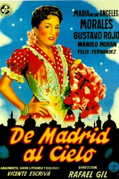 Caratula, cartel, poster o portada de De Madrid al cielo