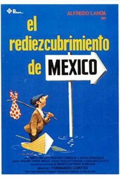 Caratula, cartel, poster o portada de El rediezcubrimiento de México