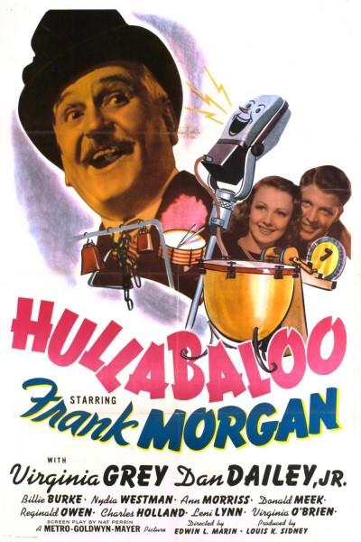 Caratula, cartel, poster o portada de Hullabaloo