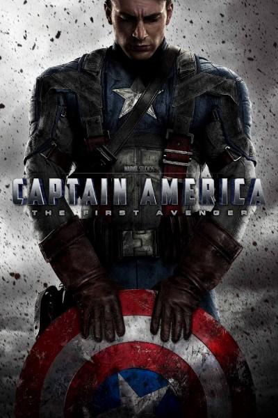 Caratula, cartel, poster o portada de Capitán América: El primer vengador