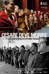 Caratula, cartel, poster o portada de César debe morir