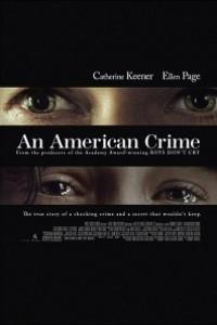 Caratula, cartel, poster o portada de An American Crime