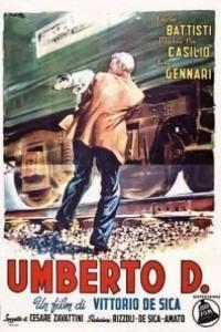 Caratula, cartel, poster o portada de Umberto D.