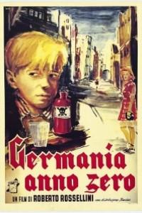 Caratula, cartel, poster o portada de Alemania, año cero