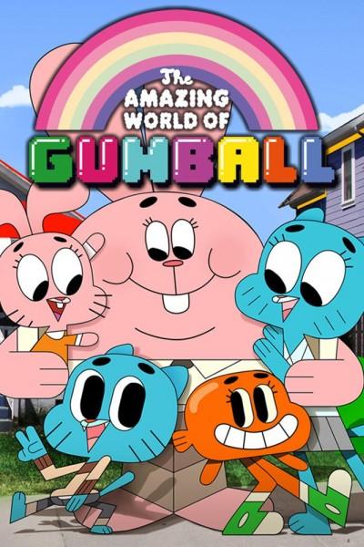Caratula, cartel, poster o portada de El asombroso mundo de Gumball