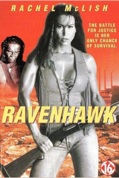 Caratula, cartel, poster o portada de El halcón negro (Ravenhawk, la vengadora)